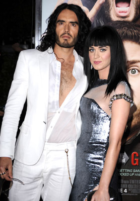 Russell Brand and Katy Perry at an event for Get Him to the Greek (2010)
