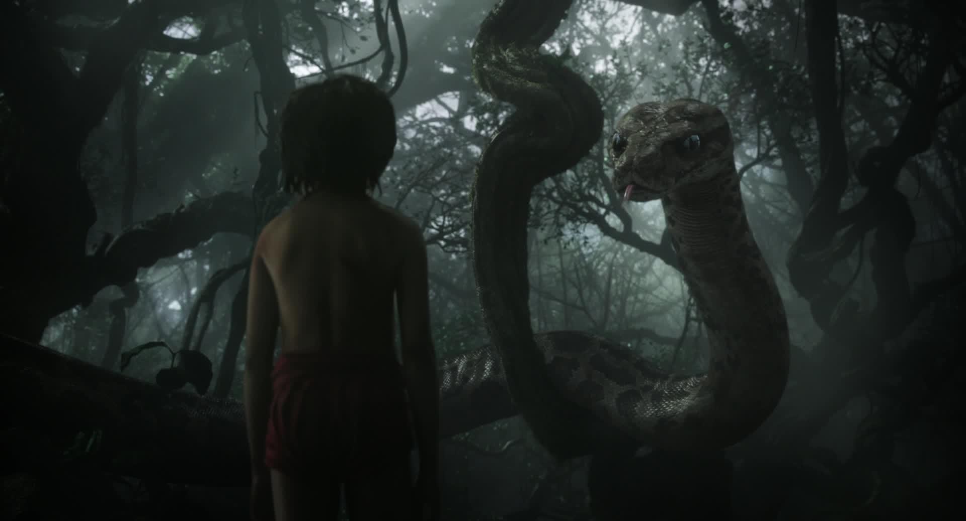 The jungle book poster trailer