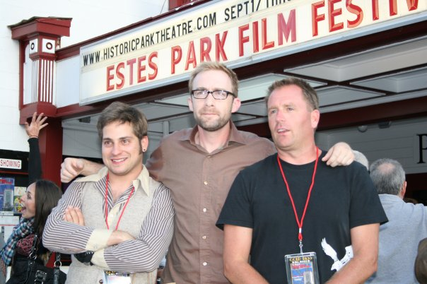 Larkin at Estes Park Film Festival. CHAINED was voted BEST THRILLER/DRAMA
