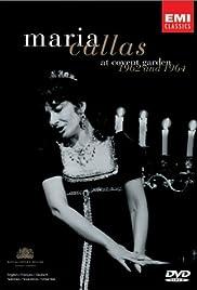 Maria Callas at Covent Garden Poster