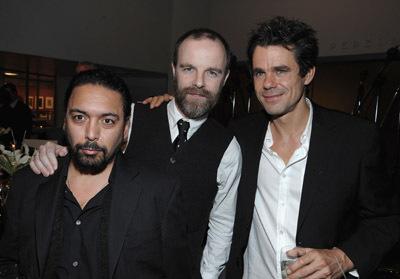 Brían F. O'Byrne, Felix Solis, and Tom Tykwer at The International (2009)