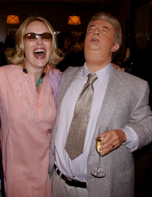 Sharon Stone and Martin Short at an event for Primetime Glick (2001)