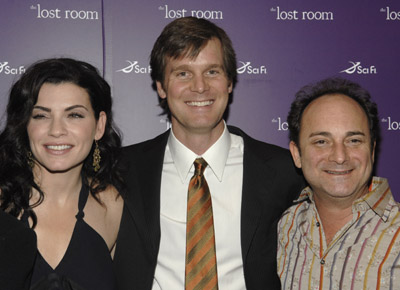 Julianna Margulies, Kevin Pollak, and Peter Krause at an event for The Lost Room (2006)