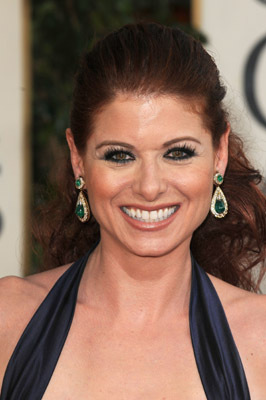 Debra Messing at The 66th Annual Golden Globe Awards (2009)