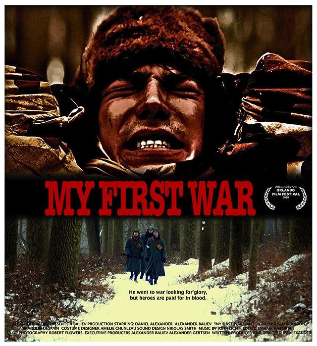 David Major, Daniel Alexander, Alexander Baliev, and Ryan Brandon in My First War (2010)