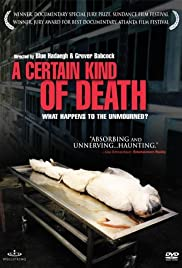 A Certain Kind of Death (2003) Poster - Movie Forum, Cast, Reviews