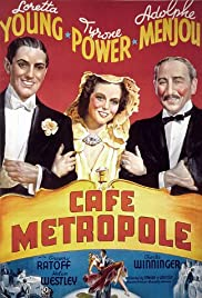 Café Metropole(1937) Poster - Movie Forum, Cast, Reviews