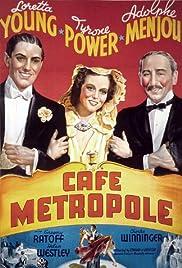 Café Metropole Poster