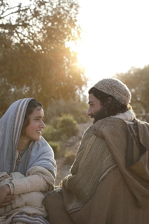 Keisha Castle-Hughes and Oscar Isaac in The Nativity Story (2006)