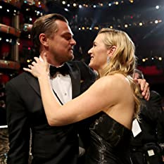 Leonardo DiCaprio and Kate Winslet at The 88th Annual Academy Awards (2016)