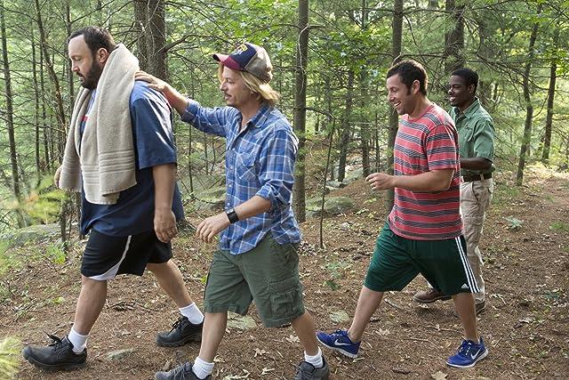 Adam Sandler, Chris Rock, David Spade, and Kevin James in Grown Ups 2 (2013)