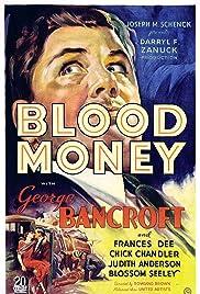 Blood Money(1933) Poster - Movie Forum, Cast, Reviews