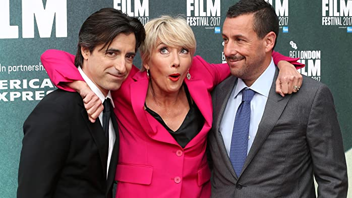 Emma Thompson, Noah Baumbach, and Adam Sandler at an event for The Meyerowitz Stories (New and Selected) (2017)