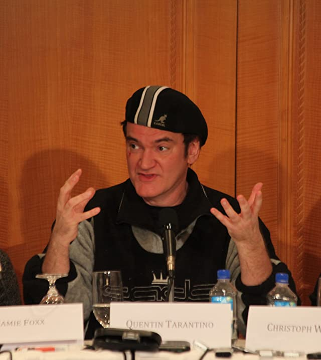 Quentin Tarantino at an event for Django Unchained (2012)