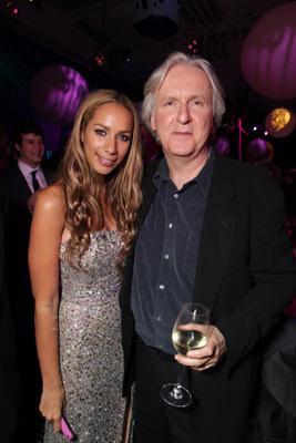 James Cameron and Leona Lewis at an event for Avatar (2009)