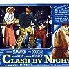 Barbara Stanwyck, Paul Douglas, and Robert Ryan in Clash by Night (1952)