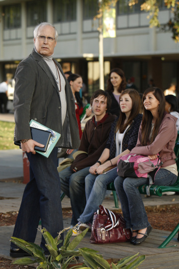 Chevy Chase in Community (2009)