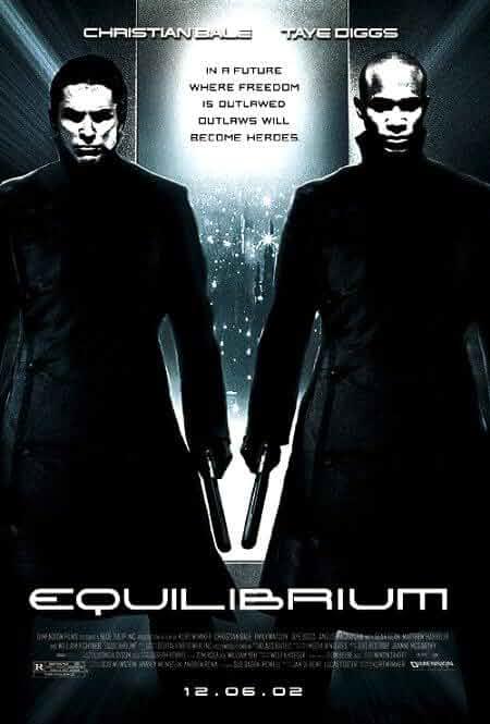 Equilibrium 2002 Dual Audio Hindi 480p BluRay 300MB