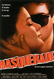 Masquerade (1988) Poster - Movie Forum, Cast, Reviews