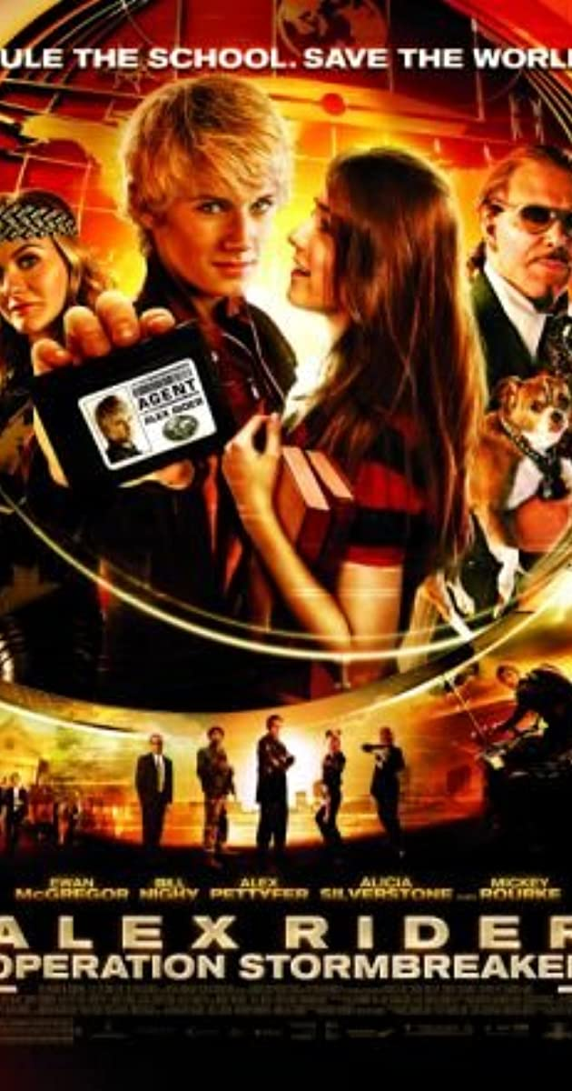 Alex Rider Movie Trailers