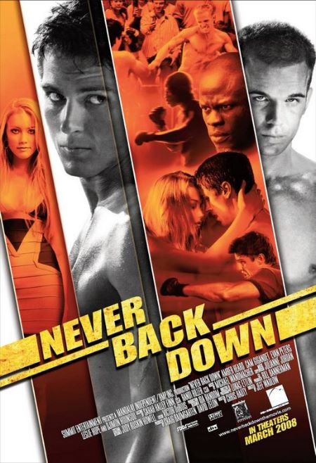 Never Back Down BluRay