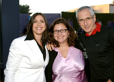 Michael Shamberg, Stacey Sher, and Holly Bario at The Skeleton Key (2005)