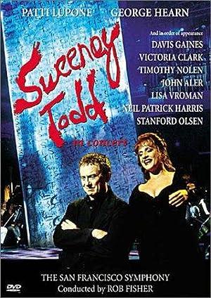 Sweeney Todd: The Demon Barber of Fleet Street in Concert poster