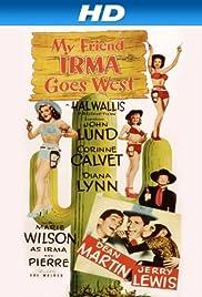 My Friend Irma Goes West Poster