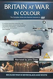 Britain at War in Colour Poster