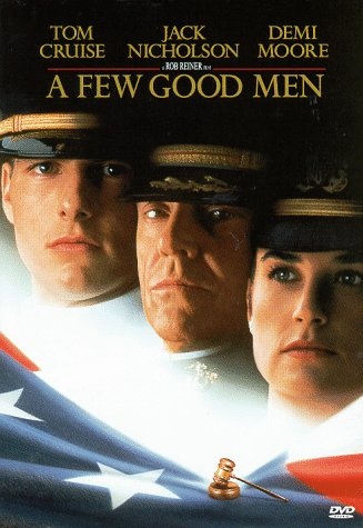 Tom Cruise, Demi Moore, and Jack Nicholson in A Few Good Men (1992)