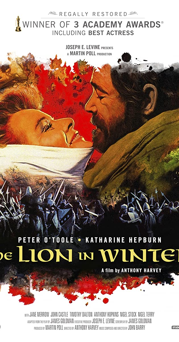 Image result for The Lion in Winter Movie Poster