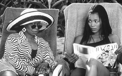 Whoopi Goldberg and Angela Bassett in How Stella Got Her Groove Back (1998)