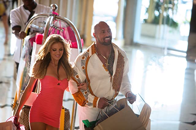 Dwayne Johnson and Bar Paly in Pain & Gain (2013)