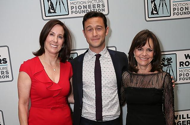 Sally Field, Kathleen Kennedy, and Joseph Gordon-Levitt
