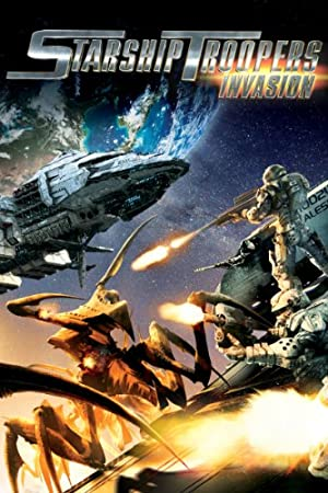 Starship Troopers: Invasion poster