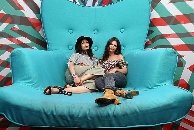 Emily Ratajkowski and Freida Pinto