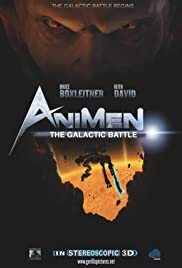 Animen: The Galactic Battle Poster