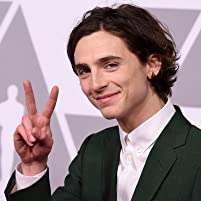 Timothée Chalamet at the 2018 Oscars Nominees Luncheon