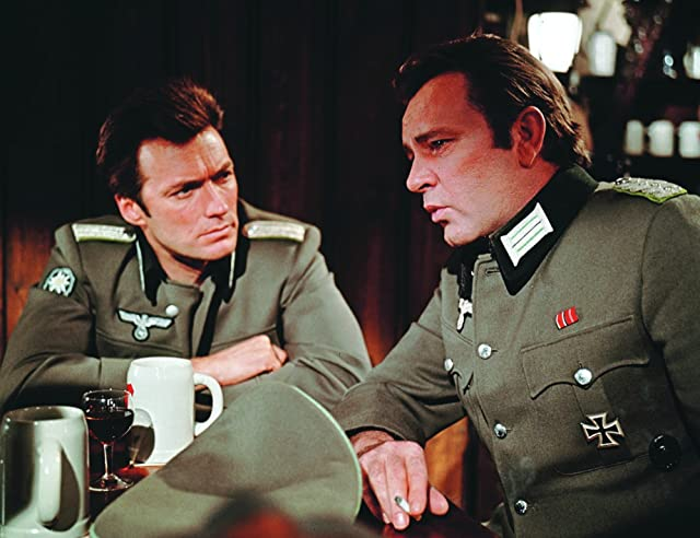 Richard Burton and Clint Eastwood in Where Eagles Dare (1968)