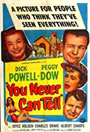You Never Can Tell (1951) Poster - Movie Forum, Cast, Reviews