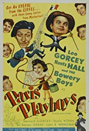 Paris Playboys (1954) Poster - Movie Forum, Cast, Reviews
