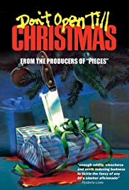 Don't Open Till Christmas (1984) Poster - Movie Forum, Cast, Reviews