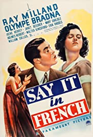 Say It in French Poster