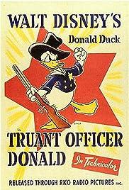 Truant Officer Donald Poster