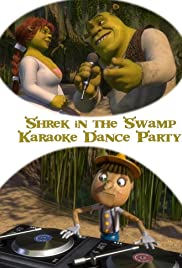 Shrek in the Swamp Karaoke Dance Party Poster