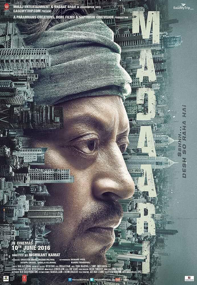 Madaari 2016 Full Hindi Movie Download 720p BRRip full movie watch online freee download at movies365.cc