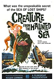 Creature from the Haunted Sea Poster