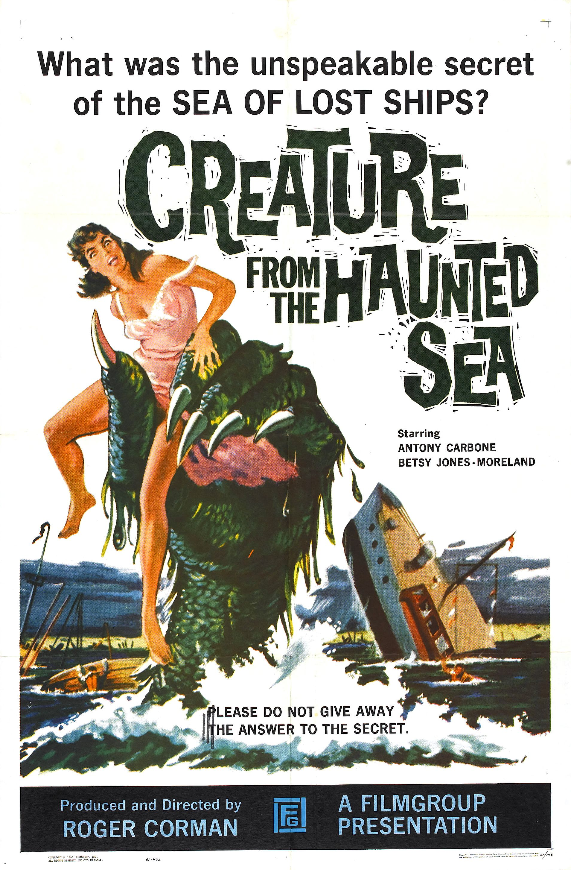 image Creature from the Haunted Sea Watch Full Movie Free Online