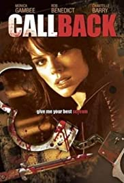 Call Back (2009) Poster - Movie Forum, Cast, Reviews