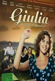 Disperatamente Giulia Poster